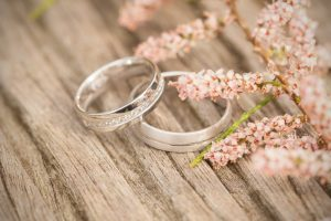 wedding ring on board